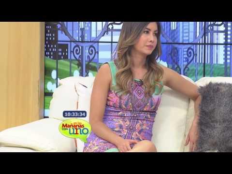 Monica Molano En Las Mañanas Con Uno