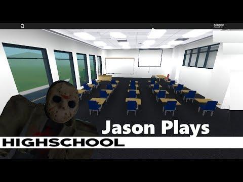 Jason Plays Roblox High School!