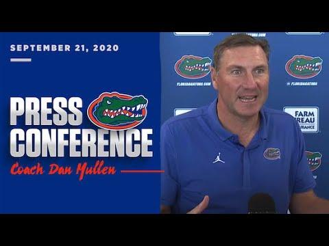 Florida Football: Dan Mullen Press Conference 9-21-20