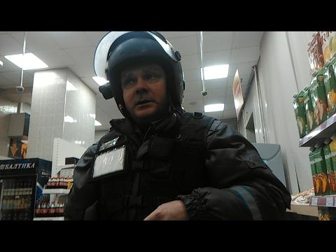 ОХРАННИКИ ВЫГОНЯЮТ ПОКУПАТЕЛЕЙ ИЗ МАГАЗИНА!!!/ИДИТЕ ОТ СЮДА НАФИГ!!!/Ильинский