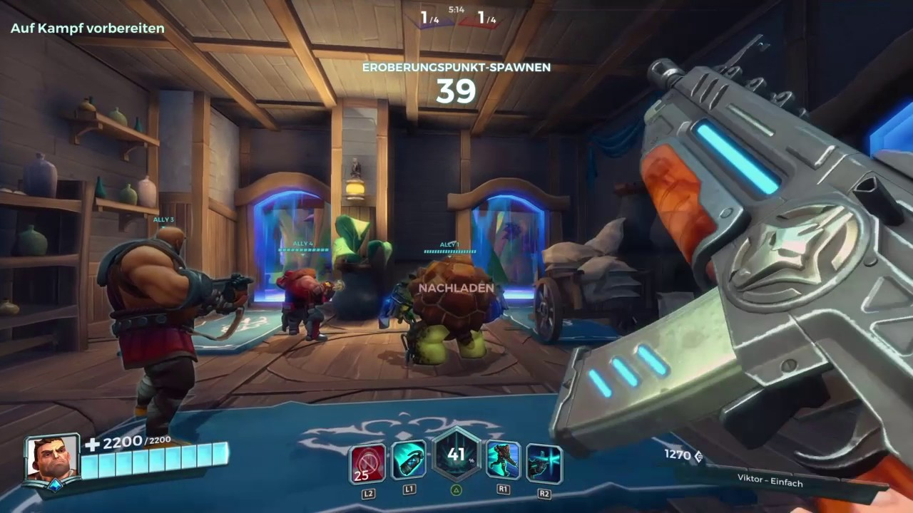 designer mode stabiele kwaliteit nieuwe stijlen Paladins Champions of the Realm Ps4 Gameplay