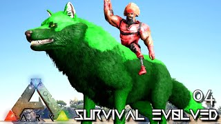 ARK: SURVIVAL EVOLVED - TMAC THE TOXIC DIREWOLF !!! PRIMAL FEAR OLYMPUS E04