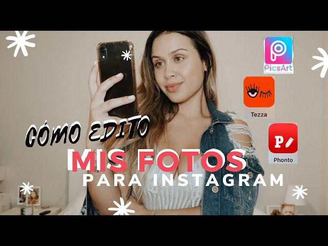 3 APPS FÁCILES Y GRATIS PARA EDITAR FOTOS/ CREEMOS UN POST JUNTAS!!!
