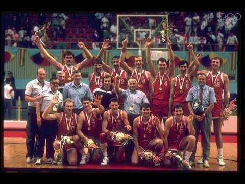 USA vs USSR 1988 Seoul Olympics full game