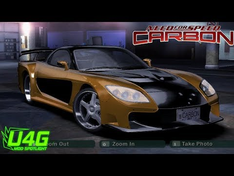 Fast And Furious Tokyo Drift Mazda RX7 Need For Speed Carbon Mod Spotlight