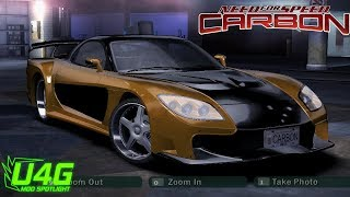FnF Tokyo drift Mazda RX7 Need For Speed Carbon Mod United4games