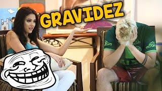 EMILY ESTÁ GRAVIDA? - TROLLANDO O REZENDE !!!