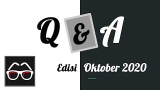 Q&A Edisi Oktober 2020 | Tanya Jawab | Channel YouTube Indonesia Belajar