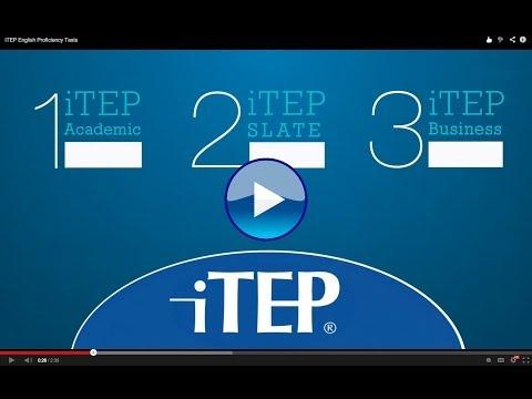 iTEP English Proficiency Tests