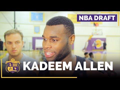 Lakers Draft Prospect: Kadeem Allen Interview (Arizona, Guard)