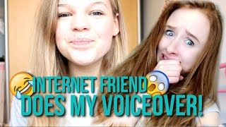 Internet Best Friend Does My Voiceover//Morning Routine!~lush leah