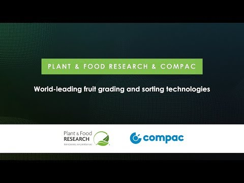2019 KiwiNet Awards Finalist Plant & Food Research And Compac Sorting Equipment