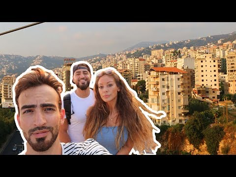 (ALMOST GOT CAUGHT!) DRONING IN LEBANON!! / WE'RE IN BEIRUT!! / VISITING HARISSA FOR THE FIRST TIME