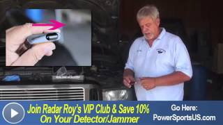 how to install a laser jammer in your vehicle