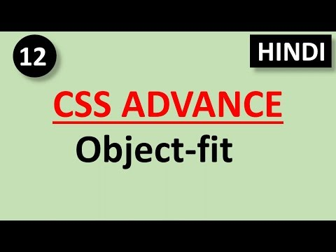 CSS Advance Tutorial #12 Object-fit Property In Css