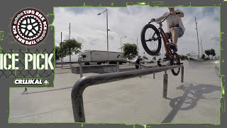 BMX COMO HACER ICE PICK GRIND (HOW TO ICE PICK GRIND)