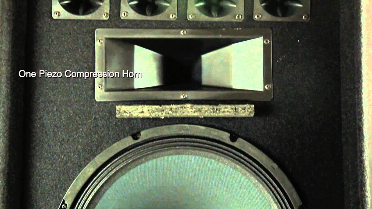 "Rockville RSG15.24 Dual 15"" 3000 Watt 3-Way 4-Ohm Passive DJ//Pro Audio Speaker"