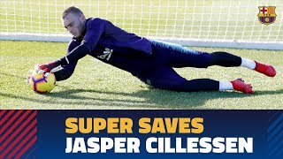 Cillessen stays sharp, goes all out in training