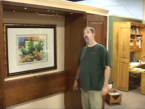 Murphy Bed Installation - Hardwood Artisans