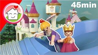 Playmobil Film Familie Hauser - Geschichten im Prinzessinnen Schloss - Video für Kinder im Megapack