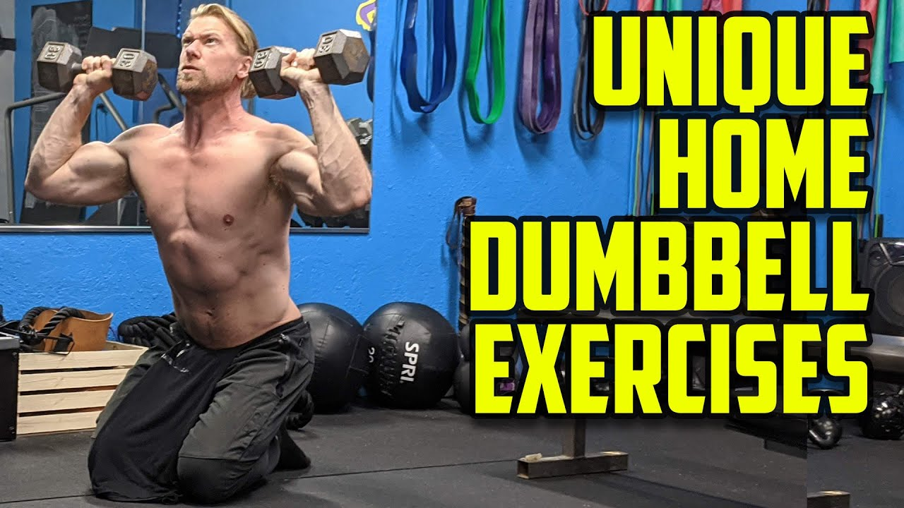 Try these Home Dumbbell Workout Exercise Variations Buff