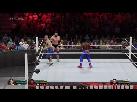 WWE 2K15 - Royal Rumble 2016 Prediction!!!