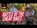Blake Samson Vs Sam Pilgrim | The Battle Of The Cheap Mountain Bikes