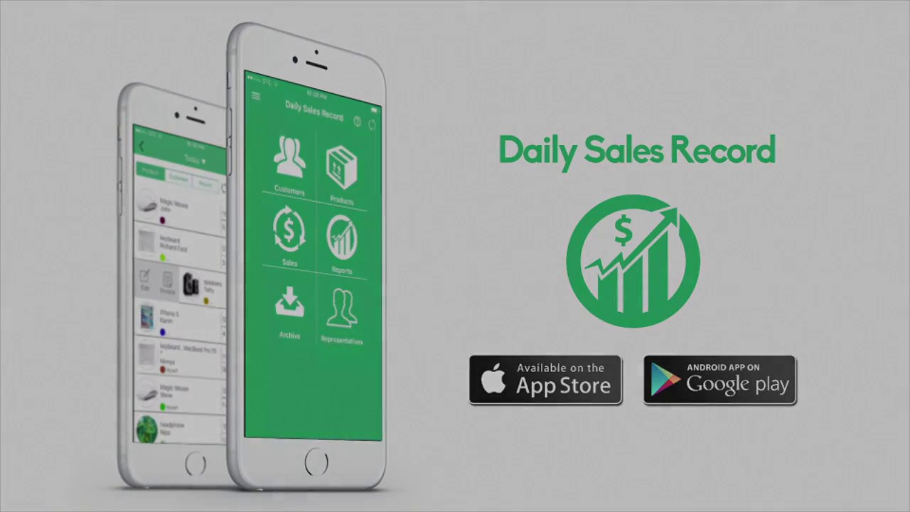 daily sales record