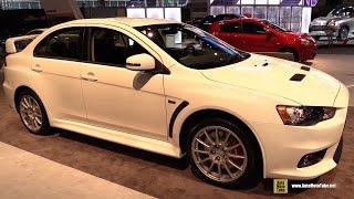 2015 Mitsubishi Lancer Evolution GSR - Exterior and Interior Walkaround - 2015 Chicago Auto Sho