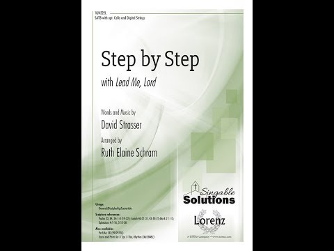 """Step by Step with """"Lead Me Lord"""" - Ruth Elaine Schram, David Strasser"""