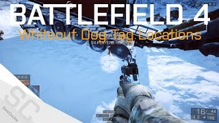 All Known Phantom Dog Tag Locations - Operation Whiteout Final Stand - BF4