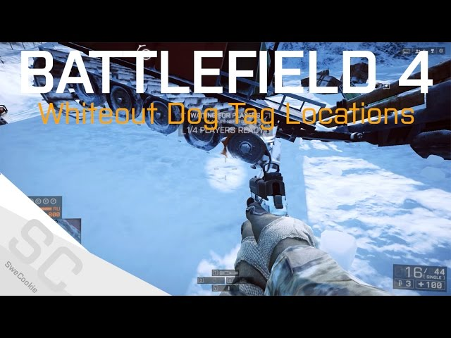 All Known Phantom Dog Tag Locations - Operation Whiteout