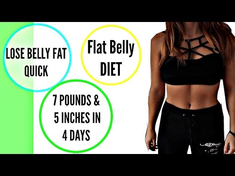 how-to-lose-belly-fat-in-4-days-|-belly-fat-diet-|-7-pounds-in-4-days-|-does-it-work?