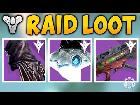 Destiny: KINGS FALL HARD RAID LOOT! 320 Light Rewards Showcase (Kings Fall Raid Hard Mode Gear)