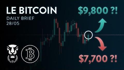 LA HAUSSE DU BITCOIN EST UN PIÈGE AVANT LA CORRECTION ?! - Analyse Crypto Bitcoin FR Altcoin