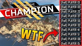 How To WIN APEX IN 8 SECONDS??.. CRAZY GLITCH.. Apex Legends Funny & Epic Moments Ep. #11
