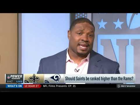 Shoulds Saints be ranked higher than the Rams?   NFL Power Rankings