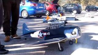 Douglas SBD Dauntless - RC- Marathon Maiden