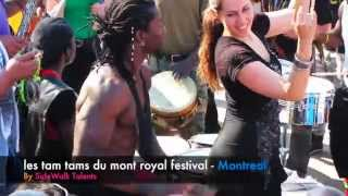les tam tams du mont royal festival by SideWalk Talent