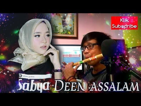 DEEN ASSALAM By Sabyan Cover Suling Bambu ( VIDEO 16 )