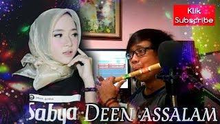 Download lagu DEEN ASSALAM by Sabyan Cover Suling bambu MP3