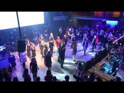Flash mob- Guberman Group's 20th anniversary
