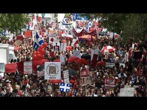 Quebec Students Resist State Repression