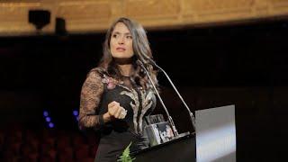 El discurso íntegro de Salma Hayek en la fiesta Vanity Fair