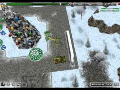 Новый Год и елка в браузерной игре Танки Онлайн