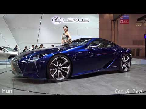 2015 Seoul Motor Show Lexus LF-LC