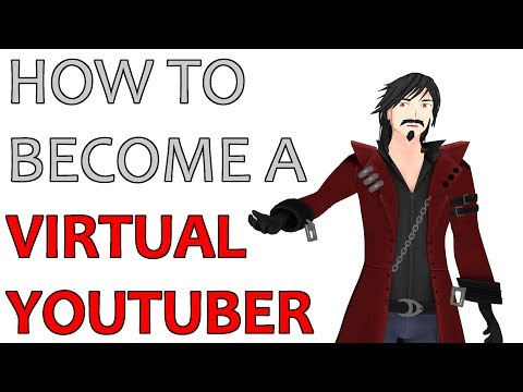 HOW TO BECOME A VIRTUAL YOUTUBER [Behind the scenes]