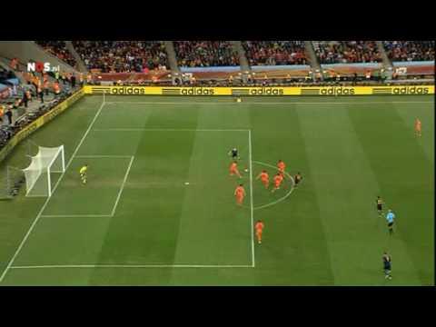 World Cup 2010 Final | No offside Iniesta | Netherlands - Spain