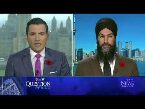 NDP Leader Singh would make Canada a republic, get rid of the Queen