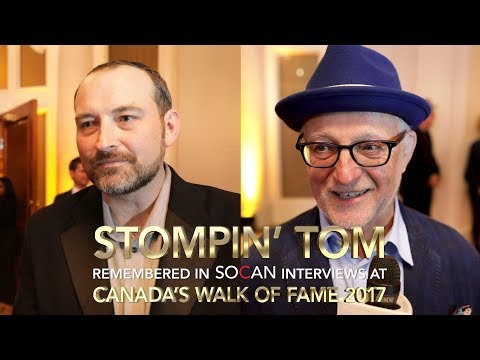 Video Interviews: Stompin' Tom remembered by family, bandmate at 2017 Canada's Walk of Fame
